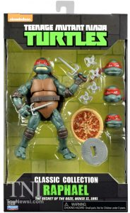Blister Classic Collection Raphael The Secret of the Ooze 2016 Tortues Ninja Turtles TMNT