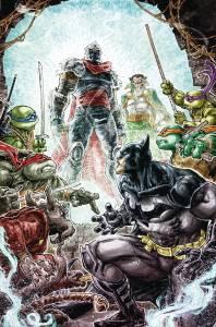 Couverture Williams II Batman TMNT #6 2 IDW DC Comics Tortues Ninja Turtles