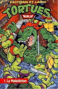 La malédiction Archie Comics Glénat US Comics 1991 Tortues Ninja Turtles TMNT