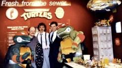 Peter Laird Kevin Eastman Mark Freedman 1987 Tortues Ninja Turtles TMNT