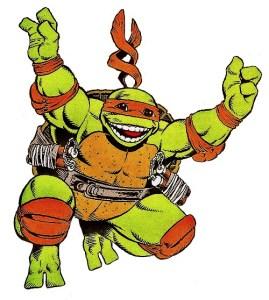 Michaelangelo Archie Comics 1988 Tortues Ninja Turtles TMNT Adventure