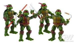 1984 comic Playmates Toys 2009 Tortues Ninja Turtles TMNT