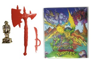 Accessoires bruns Warrior Bebop 1994 Tortues Ninja Turtles TMNT