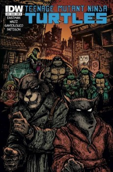 Cover B - Kevin Eastman