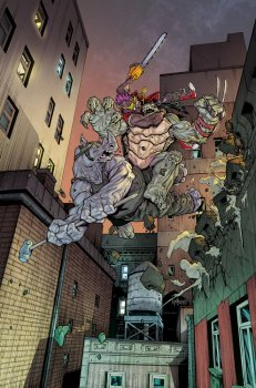 Couverture Santolouco TMNT #39 IDW Tortues Ninja Turtles_2