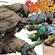 TMNT #72 IDW Comic 7 Manmoth Leonardo Tortues Ninja Turtles TMNT