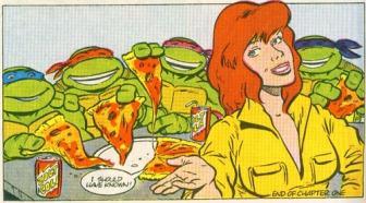 TMNT Aventures Mini-Series #1 10 Donatello Leonardo Raphael Michaelangelo April O'Neil Archie Comics Tortues Ninja Turtles TMNT