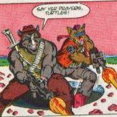 TMNT Aventures Mini-Series #2 3 Bebop Rocksteady Archie Comics Tortues Ninja Turtles TMNT-min