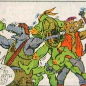 TMNT Aventures Mini-Series #3 5 Leonardo Michaelangelo Splinter Bebop Rocksteady Archie Comics Tortues Ninja Turtles TMNT