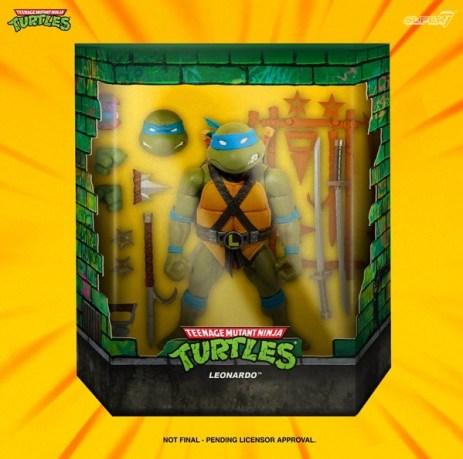 Blister Leonardo Super7 2020 Tortues Ninja Turtles TMNT_1