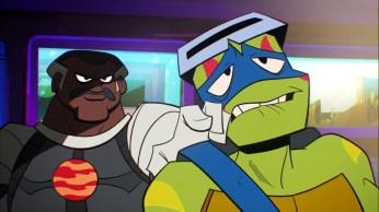 144 Série TV 2018 6 Marcus Moncrief Leonardo Tortues Ninja Turtles TMNT
