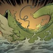 TMNT #108 IDW Comics 5 Slithery Tortues Ninja Turtles TMNT