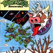 TMNT Adventures #7 Archie Comics 1 Cudley Tortues Stump Sling Tortues Ninja Turtles TMNT