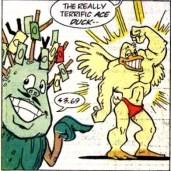 TMNT Adventures #7 Archie Comics 5 Sling Ace Duck Tortues Ninja Turtles TMNT