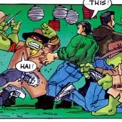 TMNT Magazine #2 Welsh Publishing Comic 1990 3 Tortues voleurs Tortues Ninja Turtles TMNT