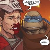 The last ronin #3 IDW Comic 17 Casey Jones Leonardo Tortues Ninja Turtles TMNT