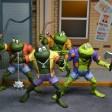 Figurines Napoleon Attila Genghis Frog Rasputin Série TV 1987 NECA 2021 Tortues Ninja Turtles TMNT_1