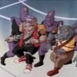 438 - Série TV 1987 Tortues Ninja Turtles TMNT - 12 Foot soldier Bebop Rocksteady