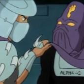 438 - Série TV 1987 Tortues Ninja Turtles TMNT - 4 Shredder Alpha-1