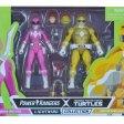 Blister April Michelangelo Lightning Power Rangers collection Hasbro 2021 Tortues Ninja Turtles TMNT_1