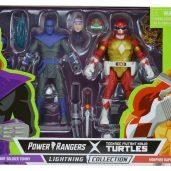 Blister Tommy Raphael Lightning Power Rangers collection Hasbro 2021 Tortues Ninja Turtles TMNT_1