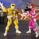 Figurines April Michelangelo Lightning Power Rangers collection Hasbro 2021 Tortues Ninja Turtles TMNT_3