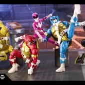Figurines Lightning Collection Power Rangers Tortues Ninja Michelangelo April Donatello Leonardo Hasbro 2021 Tortues Ninja Turtles TMNT_3