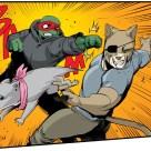 TMNT #120 IDW Comics 7 Raphael Old Hob Zanna Tortues Ninja Turtles TMNT