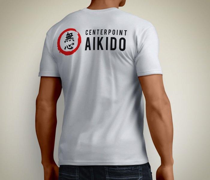 Centerpoint Aikido Logo on T Shirt