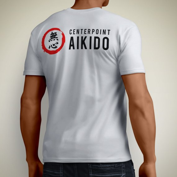 Centerpoint Aikido Logo on T Shirt