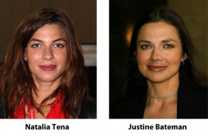 Natalia Tena Justine Bateman
