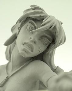 Kida Atlantis maquette