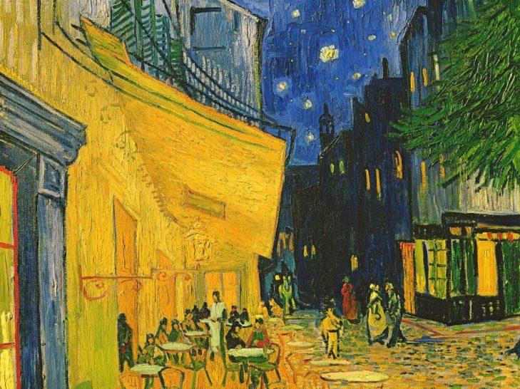 Cafe Terrace, Place du Forum, Arles, 1888 (oil on canvas)