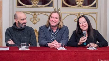 1 LOW – (da sinistra) Juan Carlos Martel Bayod, Serge von Arx, Elisabetta di Mambro_ ph. Filippo Manzini