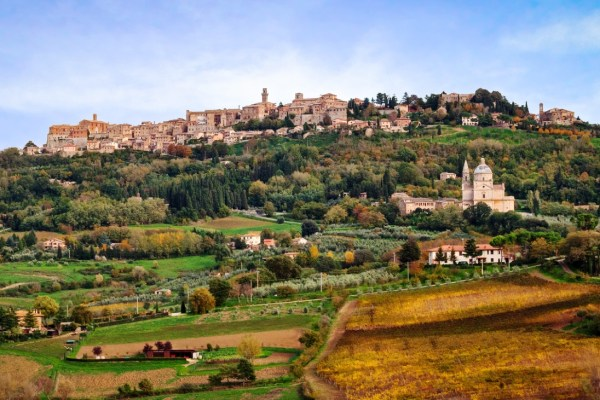 Montepulciano Italy Tuscany Wine Map Things to do see