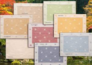 Placemats pattern bee