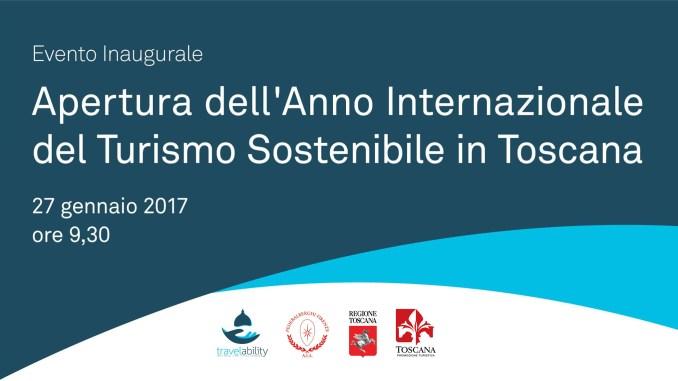 La Toscana inaugura l'Anno internazionale del Turismo Sostenibile