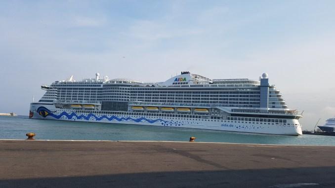 """""""AIDAperla"""" la nuova ammiraglia del marchio AIDA Cruises"""
