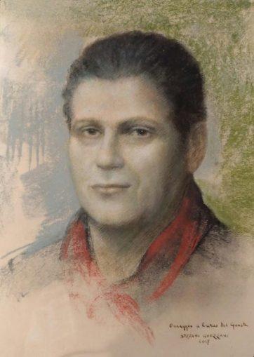 Enrico Del Guasta opera del pittore Stefano Ghezzani