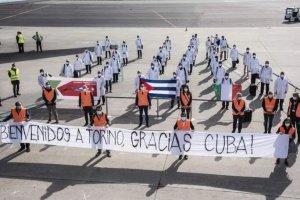 L'arrico dei medici cubani a Torino