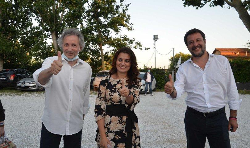 LEGA - Massimiliano Baldini, Susanna Ceccardi, Matteo Salvini