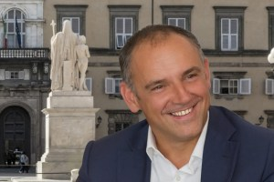 Luca Menesini, presidente della Provincia di Lucca