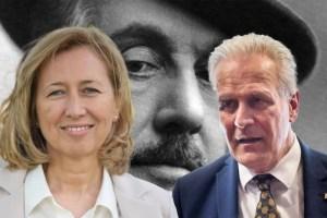 Silvia Noferi e Eugenio Giani