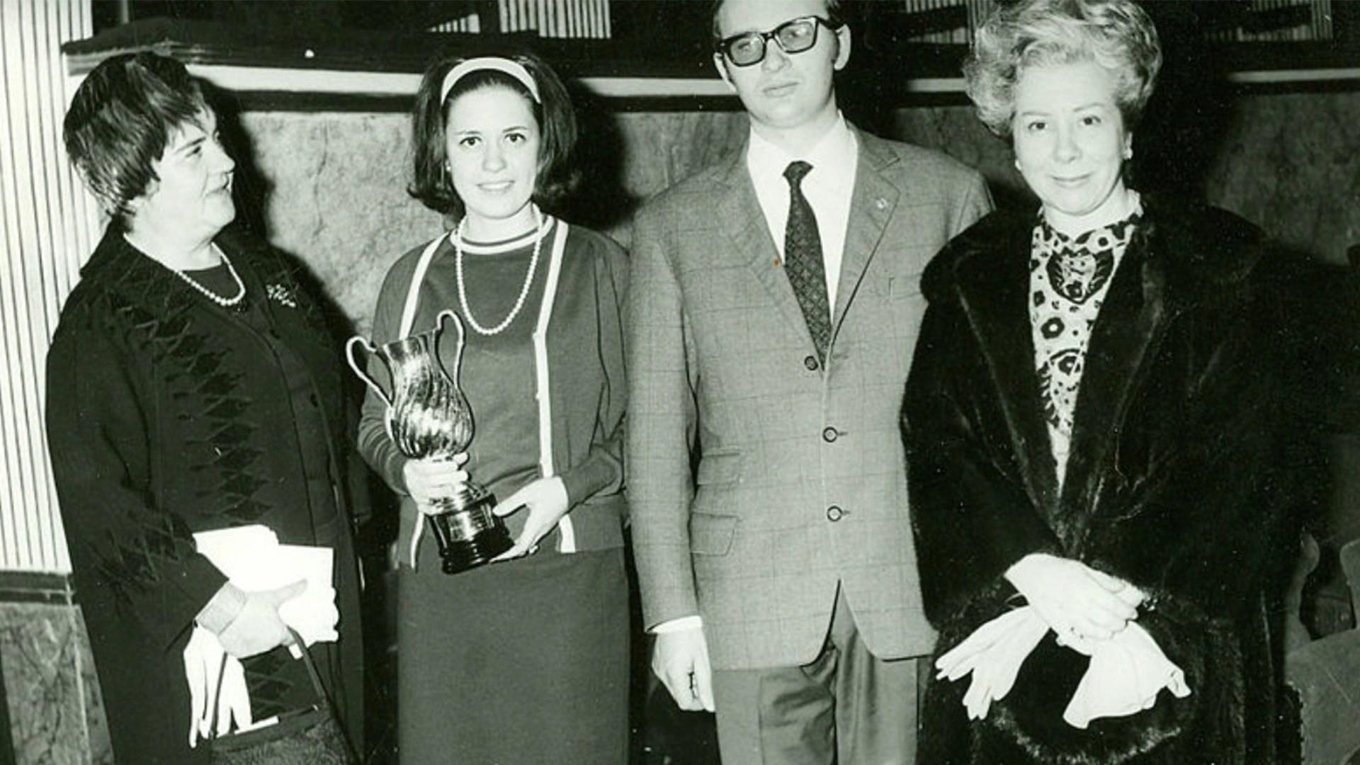 Maria Caniglia, Giuseppe Giacomini e Giulietta Simionato (1967)