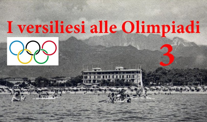 Versiliesi alle Olimpiadi