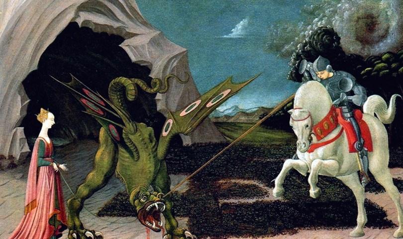 """Paolo Uccello """"San Giorgio e il drago"""""""