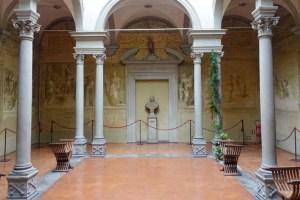 Il Chiostro dello Scalzo a Firenze
