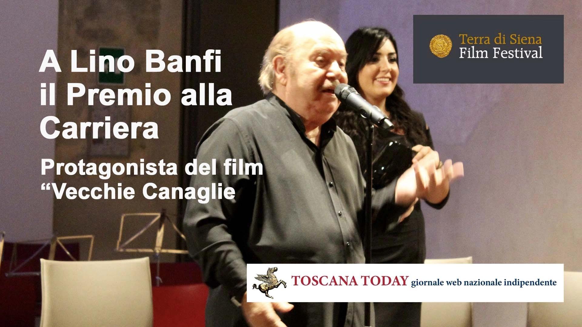 A Lino Banfi il Premio alla Carriera a Siena