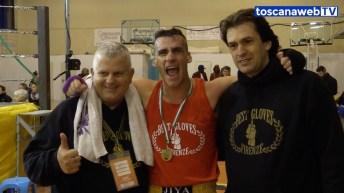 Massimo Masi con i suoi atleti