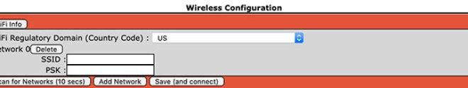Add WiFi network